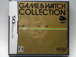 GAME & WATCH COLLECTIONパッケージ表