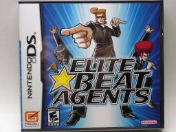 『Elite Beat Agents』パッケージ表