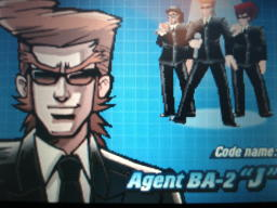 『Elite Beat Agents』キャラクタ