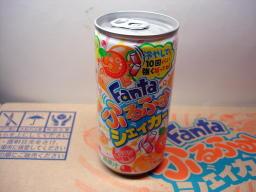 「ファンタ ふるふるシェイカー オレンジ」190ml