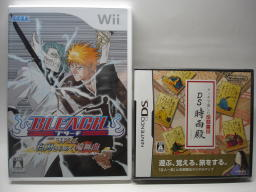 『BLEACH Wii』『DS 時雨殿』