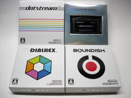 「BOUNDISH」「DIALHEX」「dotstream」パッケージ