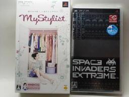 PSP「MyStylist」と「スペースインベーダー エクストリーム」