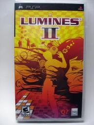 『LUMINES II』パッケージ表